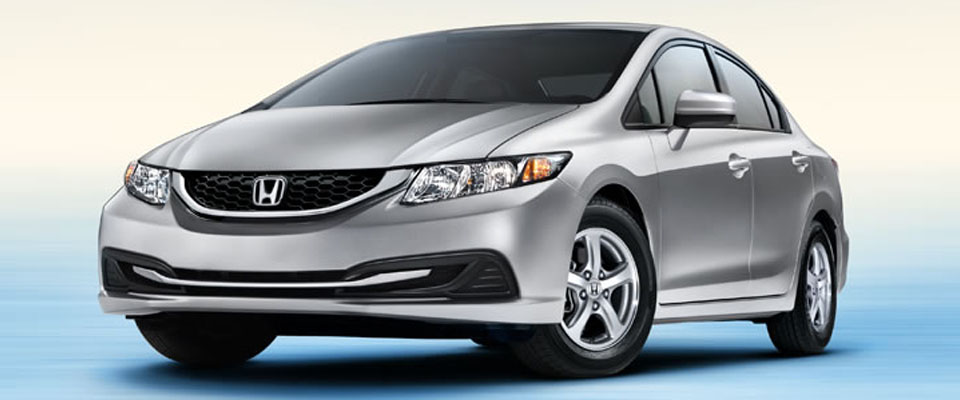 2015 Honda Civic Natural Gas For Sale in Huntington